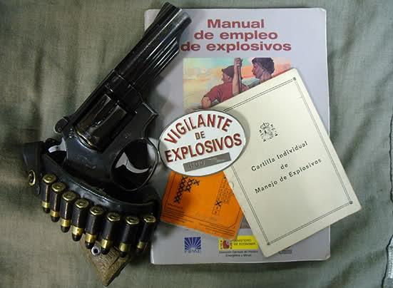 Vigilante de explosivos