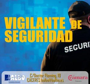 Vigilante seguridad balbo