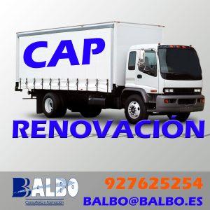 Cursos CAP Subvencionados 2019 Balbo