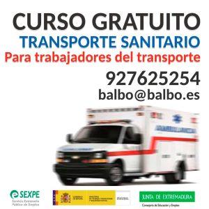 transporte sanitario balbo