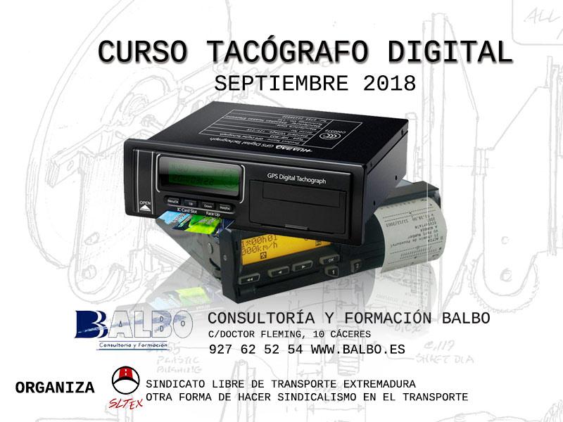 TACOGRAFO digital balbo