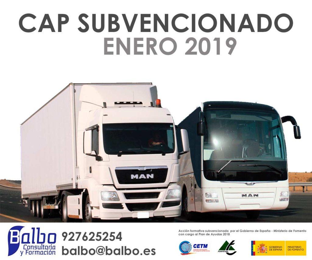 cap subvencionado enero balbo