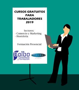 Cursos GRATUITOS Trabajadores 2019