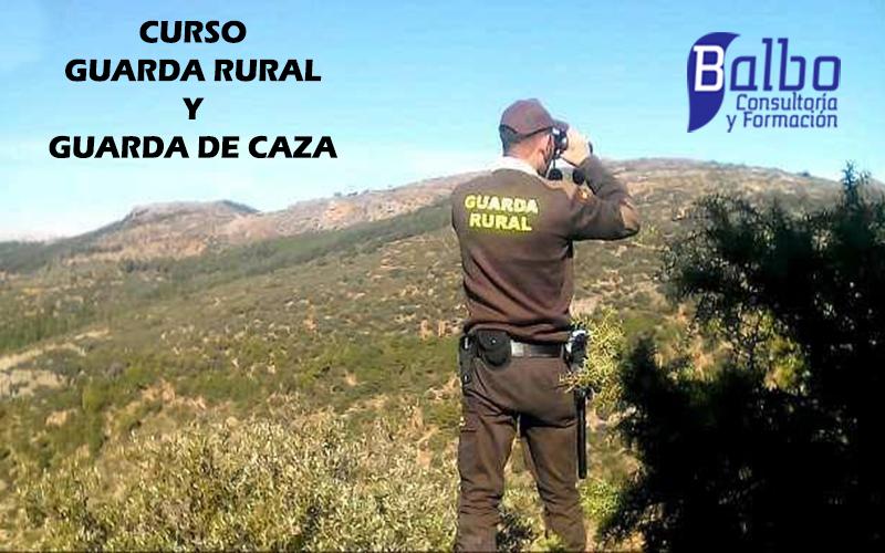 Últimos Días de Matrícula Curso Guarda Rural y Caza