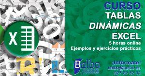 Curso Tablas dinámicas con Excel balbo