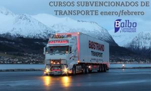 CURSOS SUBVENCIONADOS DE TRANSPORTE