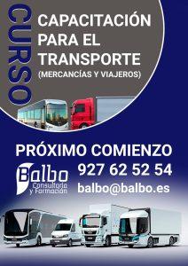 CURSO TÍTULO DE TRANSPORTISTA